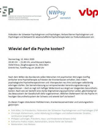 psychotherapie kosten
